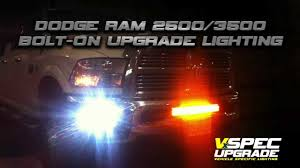 2016 Ram 3500 Fog Light Bulb Vision X Lighting Dodge Ram 2500 3500 Led Bar And Fog Lights Video