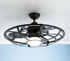 enclosed ceiling fan with light astound fans lights awesome glamorous cage interiors 22