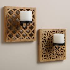 12 best wall candle sconces for your home carved wood