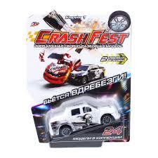Купить <b>1TOY CrashFest</b> Monster машинка 2в1инерционная ...
