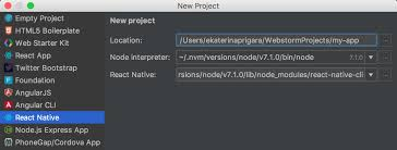 Developing mobile apps with React Native in WebStorm | WebStorm Blog