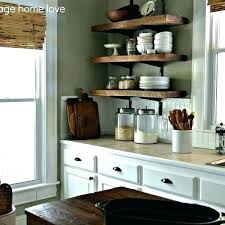 reclaimed wood floating shelves kitchen rustic modern dishwasher sizes shelving scroll magnificent mixer parts tchen