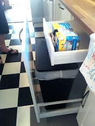 Under Cabinet Trash Can In Mount  And Grocery Bag   Insert1