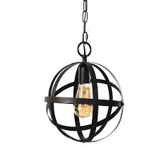 Interior Lantern Light Fixture Coramdeo Indoor Pendant Lantern Lighting Fixture Hanging Lighting Fixture Metal Construction With Bronze Finish E26 Base Bulb Not Included
