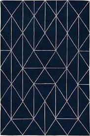 home and furniture elegant blue geometric rug on alvin modern well woven blue geometric rug