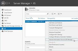 How to Build and Host a Static Website on IIS Using Windows Server 2012