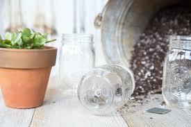 how to drill a hole into a mason jar for succulents faithfoodfamilyfun