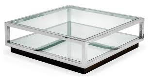 stainless steel glass coffee table coffee table design ideas