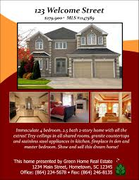sample flyer designs open house designs advertisements
