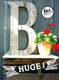 large letters to hang on wall wooden letter decorations for decor oversized ideas alphabet g wood