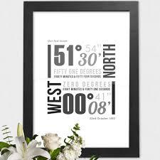 Typographic Housewarming Gift Ideas