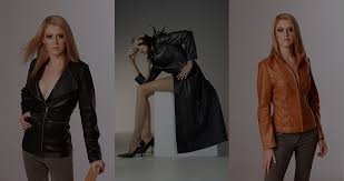 exclusive range of leather garments