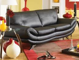 Italian Leather Living Room Furniture Living Room Design With Black Leather Sofa Modern Leather Living