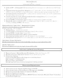Human Resources Resume Sample Interesting Sample Resume For Human Resource Assistant Samples Resources Hr