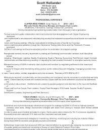 Procurement Resume Format Sourcing Manager Resume Assistant General