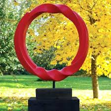 large garden statues for sculptures modern vortex abstract statue now at uk sa large garden sculptures