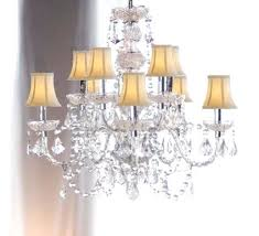 drum shade chandeliers shades of light within crystal chandelier