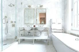 large white tiles marble wall bathroom master bathroom with large white marble hexagon wall tiles green