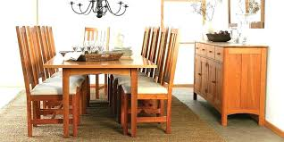 craftsman dining table and chairs craftsman style