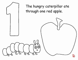 Very Hungry Caterpillar Coloring Page New Very Hungry Caterpillar