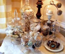 Apothecary Jars Decorating Ideas Coastal Christmas Apothecary Jars Sally Lee by the Sea 48