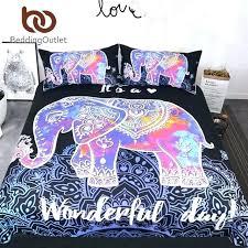 enjoyable inspiration ideas mandala comforter set queen sacred duvet cover fireweb info colorful elephant bedding size bohemian