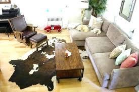 awesome faux animal rug or coffee tables faux animal skin rugs cow print rug bear medium