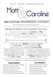 Free Printable Wedding Program Templates Programs Microsoft Word