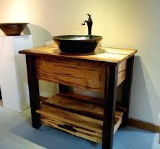 Single Vessel Sink Bathroom Vanity Bathroom Style Selections Cromlee Bark 24 In Vessel Single Sink