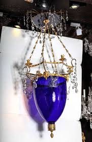 living graceful cobalt blue chandelier 10 b cobalt blue glass chandelier