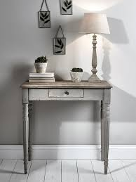 Console Table Lights Toulon Console Table Light Grey Hall Tables Chests In