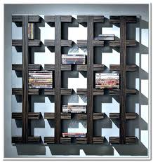wall mounted cd storage amazing ideas shelves dvd lewtonsite com home for 10