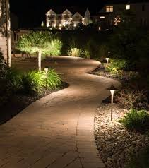 walkway lighting ideas. Outdoor Patio Lighting Ideas Patios And Intended For Modern Property Landscape Walkway