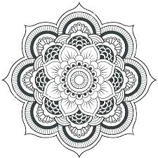 Free Flower Coloring Pages Flowers Coloring Pages Free Flower Design