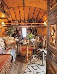 Travel trailers interior Remodel Western Home Or Western Camper Glimpse Inside Ralph Laurens Trailer With Its Authentic Rough Wood Floor This Smaller Airstream Is Actually Located On Bill Plemmons Rv World 61 Best Travel Trailer Remodel Images Travel Trailer Remodel Rv