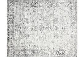 gray and white rug. Vintage Rugs Gray And White Rug