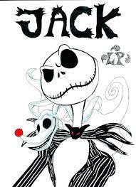 Jack Skeleton Coloring Pages Jack Coloring Pages Jack Coloring Page
