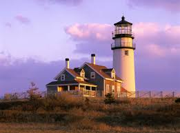 West Dennis Light Stage Harbor Lighthouse Chatham Cape Cod Cape Cod