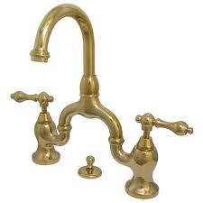 kingston brass faucet. Modren Brass Kingston Brass 8 In Widespread 2Handle HighArc Bridge Bathroom Faucet In For N