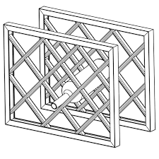 Image Black Metal Lattice Wine Rack Dimensions Assembled Wine Rack With Frame Part 1736 Pinterest Lattice Wine Rack Dimensions Assembled Wine Rack With Frame Part