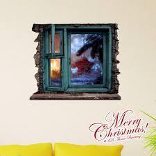 Ausverkauft Eu Lager3d Wandtattoo Weihnachten Fenster
