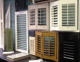 louvered window shutters style