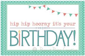 happy birthday card printable free my birthday pinterest