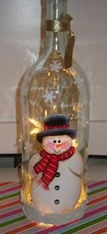 How To Decorate A Wine Bottle For Christmas My wine bottle lights Christmas Pinterest Bottle lights 92