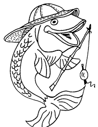 Pin By Gerda Miller On Colouring Pictures Fish Coloring Page