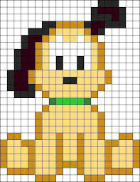 Pin by Ashley Burd on figuras | Perler beads, Perler bead disney, Perler  bead patterns
