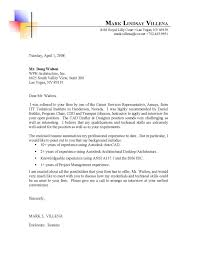 Architecture Cover Letters Gallery Cover Letter Sample Collection Of