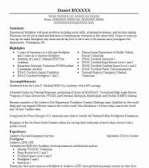 Best firefighter resume example livecareer for Fire dept resume . Fire  department lieutenant job description resume ...