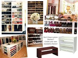good closet shoe racks for closets bedroom inspiring cove lighting shoe shelf for closet pictures