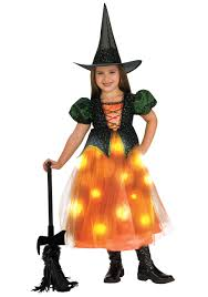 Light Up Witch Hat Girls Twinkling Witch Costume Light Up Witch Costumes